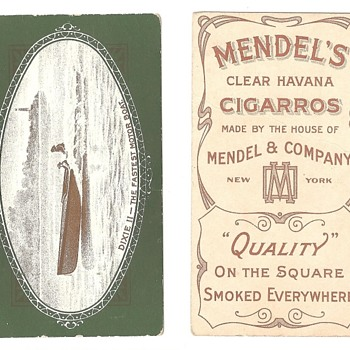 I think this is pretty rare tobacco card, but... - Tobacciana