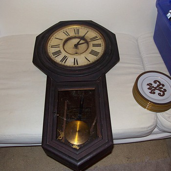 Ansonia Schoolhouse Clock - Clocks