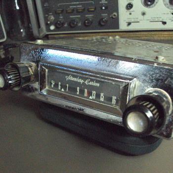 MY STROMBERG CARLSON CAR RADIO - Radios