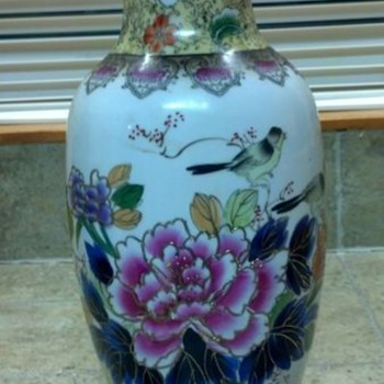 Hello!  I'm new to vase collecting.  What is this colorful vase? - Asian
