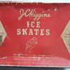 mid 1950's J. C. Higgins ice skates with original box & blade protectors