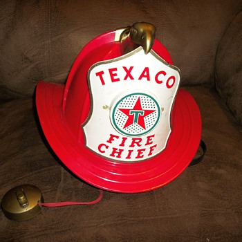 Texaco Fire Chief Helmet - Firefighting