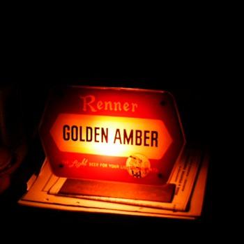 Renner light up sign