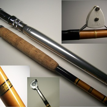 Vintage LEE CAMMAN CUSTOM fishing rod