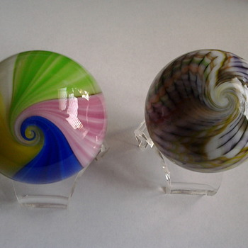 The other 2 favorite marbles - Art Glass