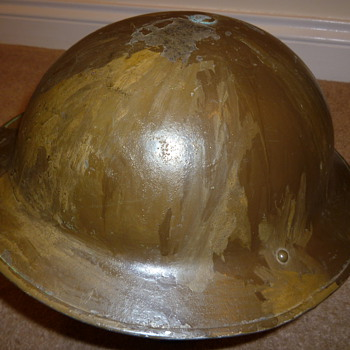 British WW11 Cammo helmet - Military and Wartime