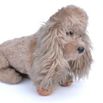 chien en peluche années 50?