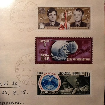 2 letter from ex CCCP - Stamps