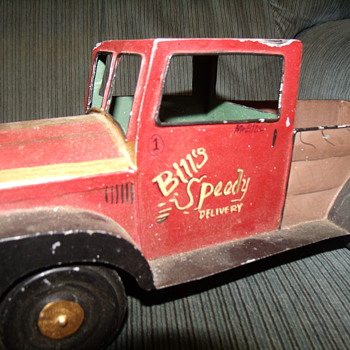 Old Tin Truck found at yard sell - Model Cars