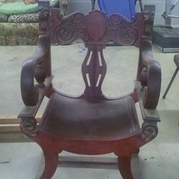 Renaissance Revival Chair? - Furniture