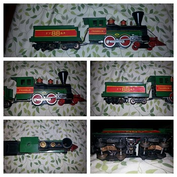 My favorate ho scale....post-war train