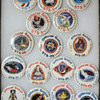 Space Shuttle landing guest badges