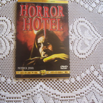 "1960 Collectible Genre In HORROR FILMS Category Have Cult Following!""HORROR HOTEL"" Is One."
