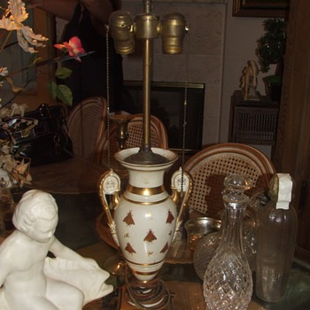 Antique French BEE Lamp???