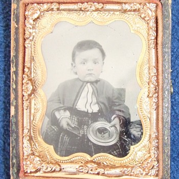 A sad Story in Ninth Plate ambrotype