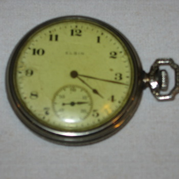 Another Elgin Pocket Watch - Pocket Watches