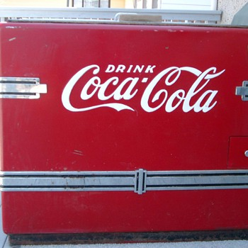 Coca Cola Chest Cooler.