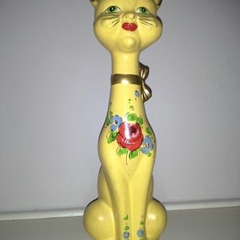 Italian Cat Figurine  - Animals