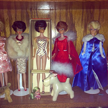 My side part bubblecut Barbies