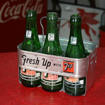 7up bottle carrier - Advertising
