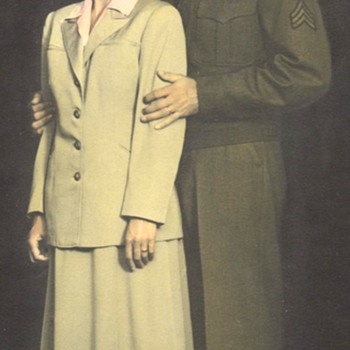 WWII Couple - Military and Wartime