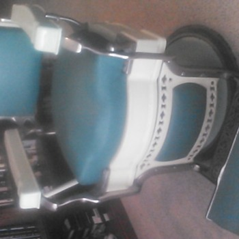 how to find out what year my kokenn barber chair is - Furniture