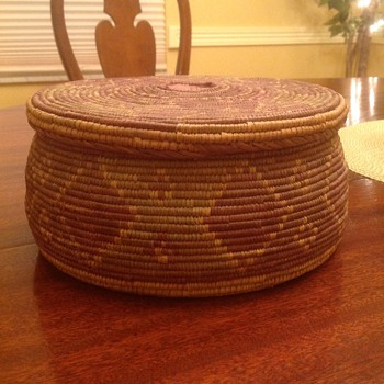 Native American Indian Basket Help