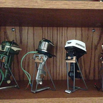 Miniature Outboard Motors - Working - Toys