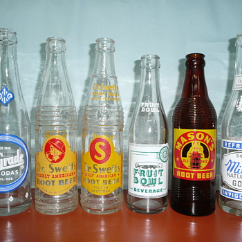 Hygrade Water & Soda Co. Bottles
