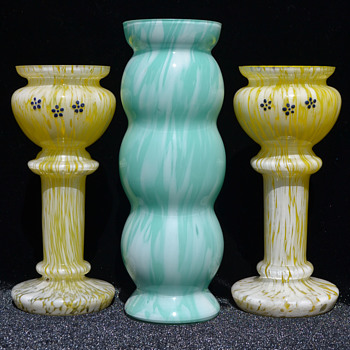 Welz variegated glass