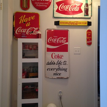 Coke in the Hall & '68 Theatre Sign - Coca-Cola