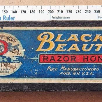 "Pike ""Black Beauty"" Razor Hone."