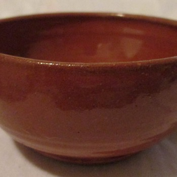 Owens Potteries red bowl (70s - 80s)