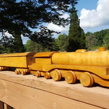 Boysen Toys Wooden Train