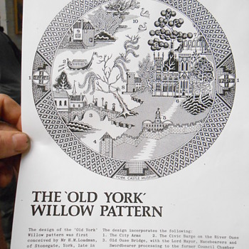 York Willow Pattern