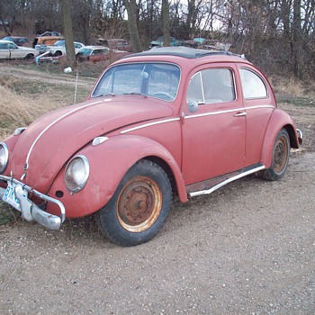 My 1960 Volkswagen Beetle