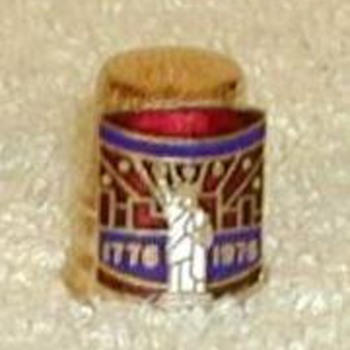 "Bicentennial ""Statue of Liberty"" Thimble"
