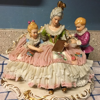 Inherited Dresden-style figurine