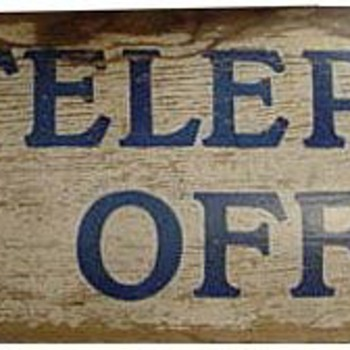 Wood KTCo. Telephone Office - Telephones