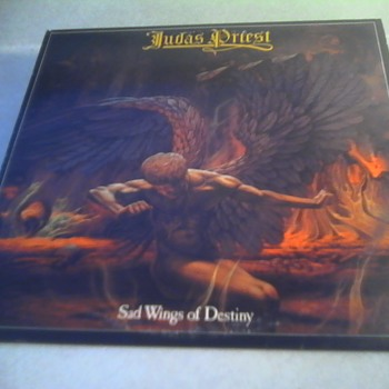 "Judas Priest "" Sad Wings of Destiny"" - Records"