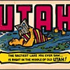 "Travel Sticker - ""Utah"""