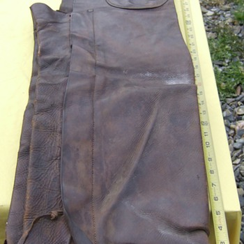 Really Exceptional set of Chaps, Used in Powder river area Wyoming - Native American