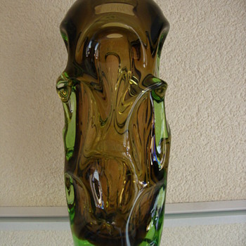 vase mid century modern - Art Glass