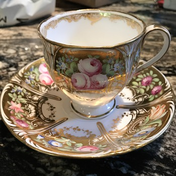 Antique tea cup and saucer set - China and Dinnerware
