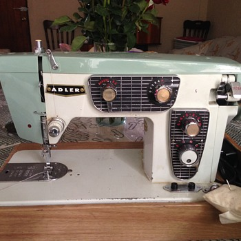 Adler Portable Sewing Machine Model 850-B