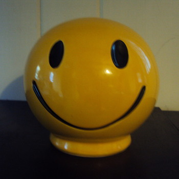 Smile Face Coin Bank