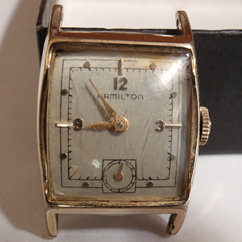 1951 Hamilton &quot;Kirby A&quot; 14K medallian series - Wristwatches
