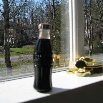 minature coke bottle cigarette lighter