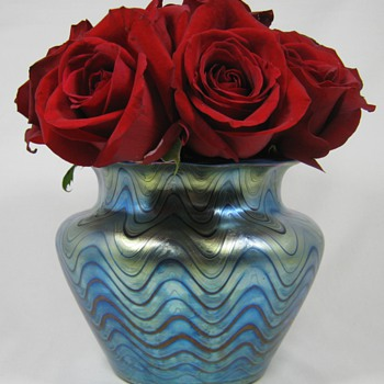 Loetz Rubin Phänomen Genre 6893 ca. 1904 - Art Glass