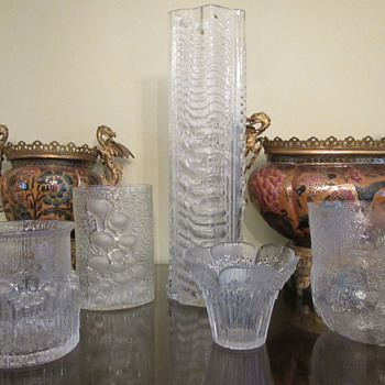 More Scandi Glass...Hoarder style!